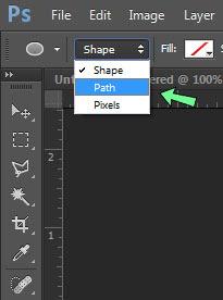 Cara membuat teks melingkar di Photoshop