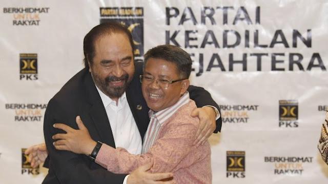 Surya Paloh Rangkulan dengan Presiden PKS, Pendiri Nasdem: Memalukan