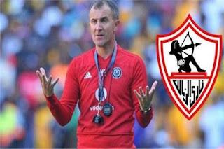عاجل مرتضي منصور يكشف قيمة عقد المدرب الجديد على الهواء مباشرة