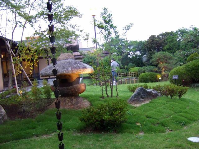 川豊別館の中庭