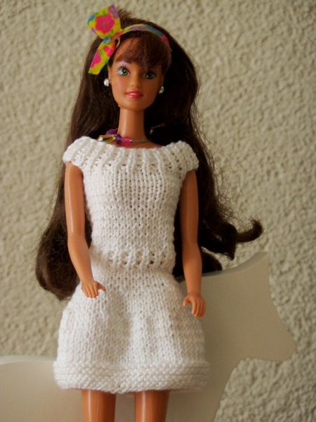 De Tante Van Tjorven Breien Voor Barbie