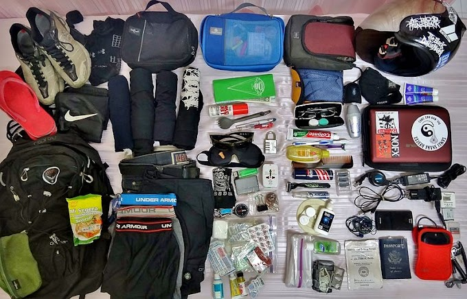 Travel Packing List - Tips To Follow For All Your Packing Needs