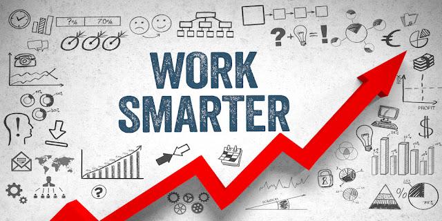 10 طرق بسيطة للعمل بذكاء