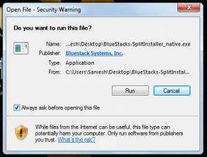 bluestacks windows 7 pc download
