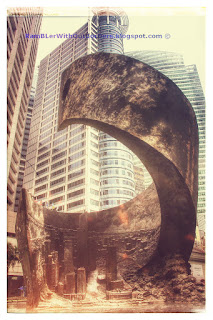 Progress and Advancement by Yang Ying-Feng, Raffles Place, Singapore