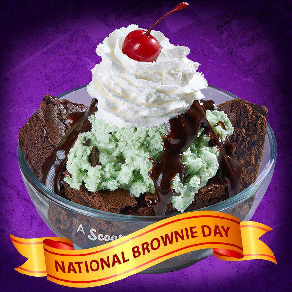 National Brownie Day Wishes Sweet Images