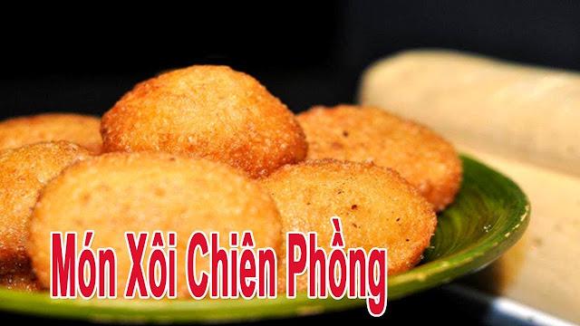 Xoi chien ap chao - Ship do an nhanh Da Nang