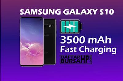 Spesifikasi Baterai Samsung Galaxy S10