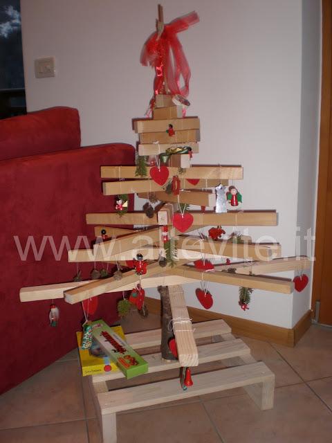 costruire un albero di natale ecologico altevite
