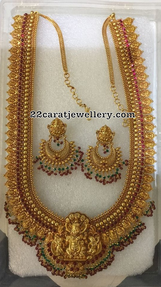 Lakshmi Long Chain with Chanbdalis
