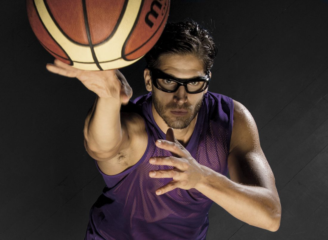 Óculos para jogar basquete com ótima proteção 3225855a38