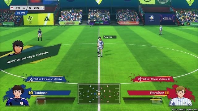 Análisis de Captain Tsubasa: Rise of New Champions para PS4 - Partido