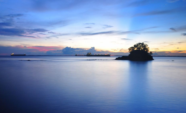 Pulau Babi di Balikpapan