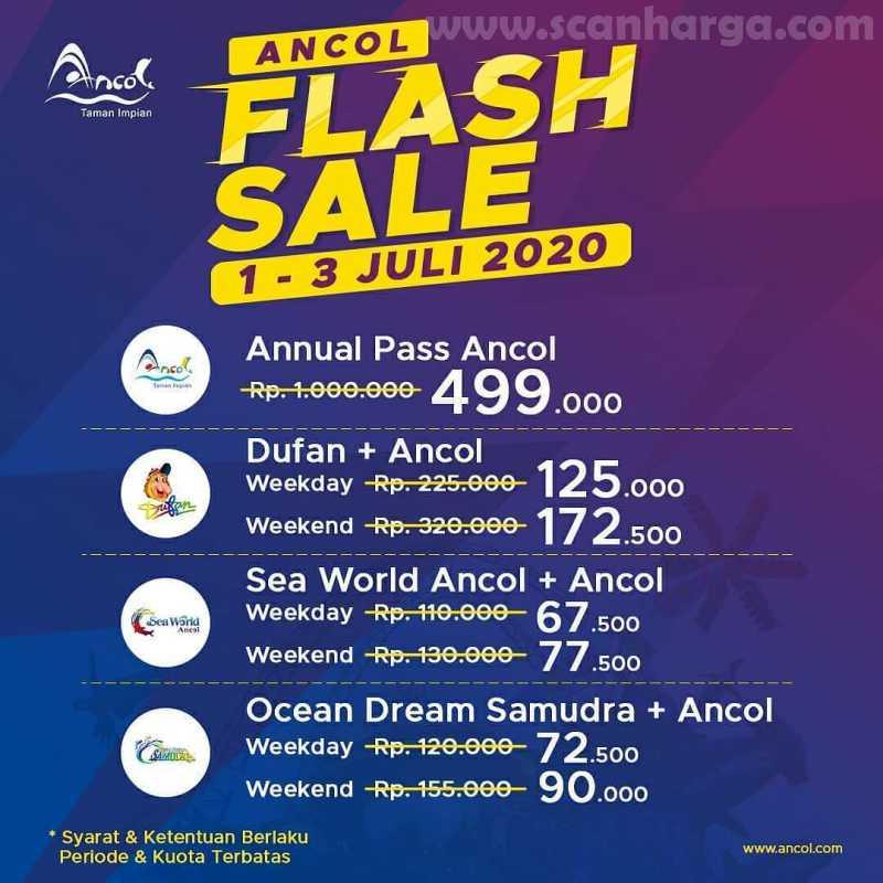 Promo Annual Pass Ancol Flash Sale
