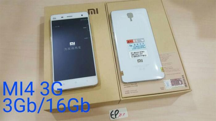Xiaomi mi 4 3G ram 3gb