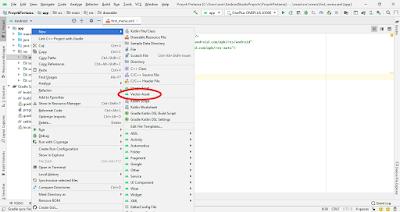 cara membuat icon vector asset android studio
