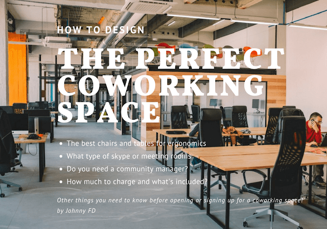 Follow the journey of a location Coworking space design ideas