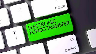 How is cryptocurrency differenct that electronic funds