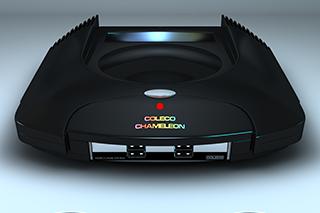 La nueva consola Coleco Chameleon se enfrenta a su primera prueba de fuego