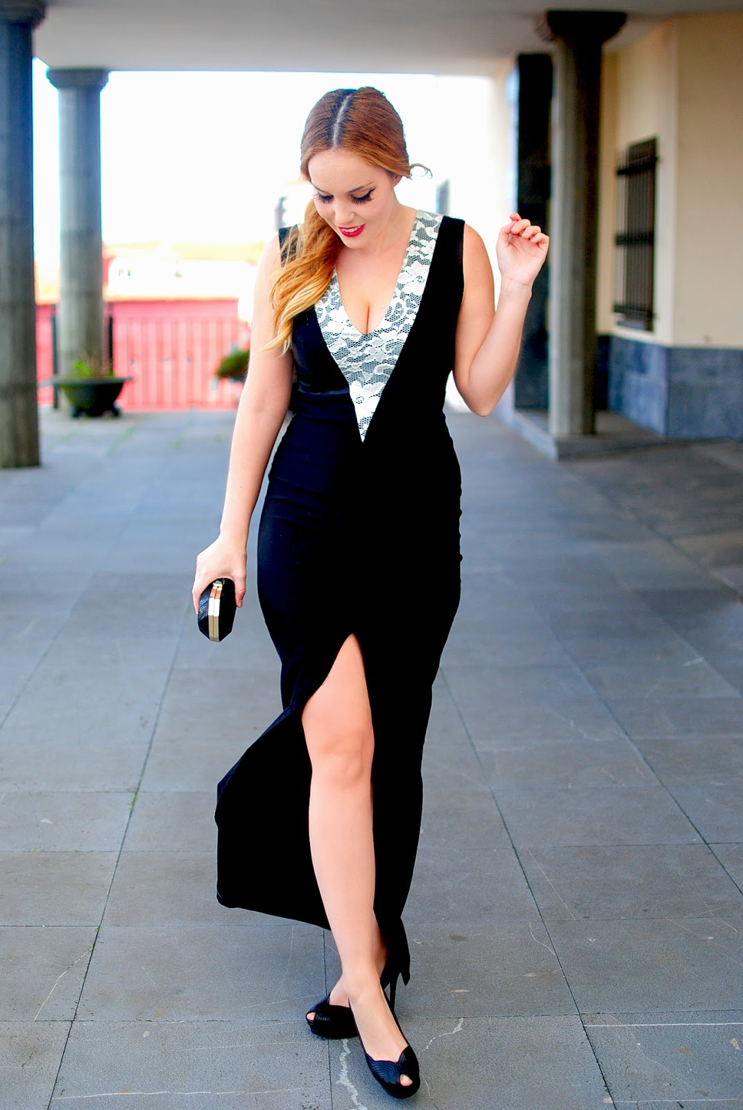 nery hdez, vesper dresses, long dress, vestido largo, look for christmas day,