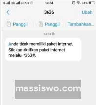Cek Kuota Simpati Internet