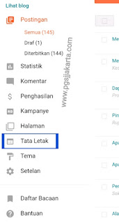 Cara memasang Widget Contact Form sederhana di Blogspot
