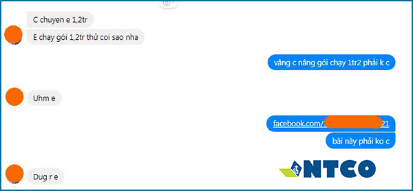 quang cao tren facebook feedback