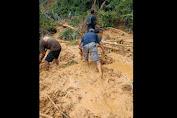 Bencana Longsor Kembali Terjadi di Dusun Belaban Nyuruh Desa Nanga Nyuruh