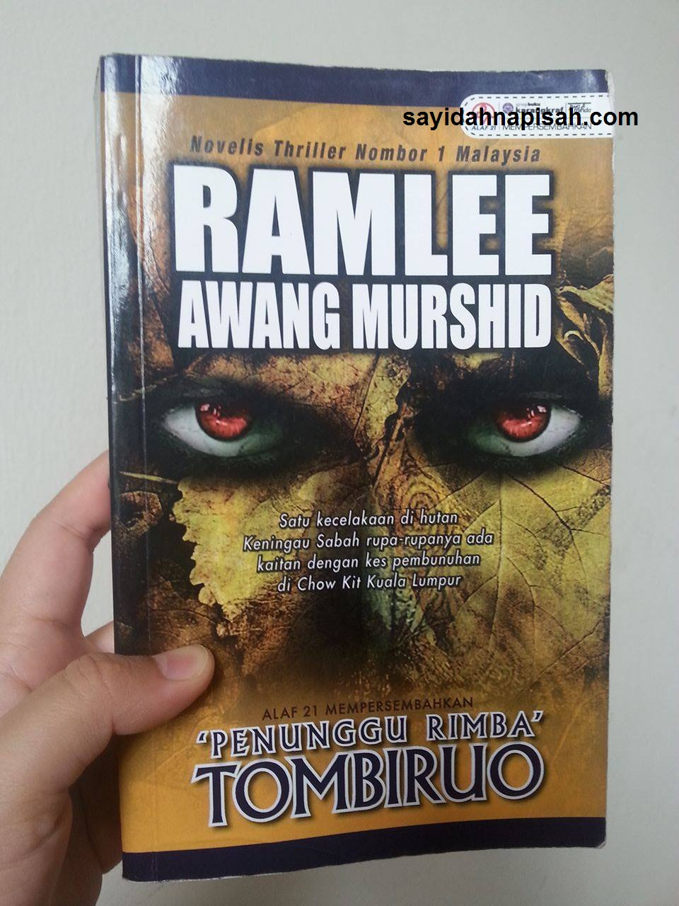 Novel 'Penunggu Rimba' TOMBIRUO - Ramlee Awang Murshid