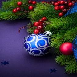 Коледна украса за блог на Blogger