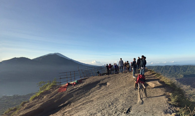 Destinasti Objek Wisata Gunung Batur Di Kintamani Bangli