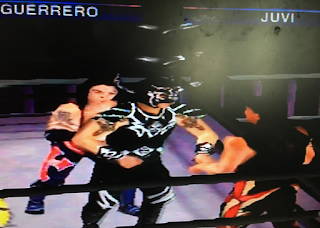 WCW Mayhem - PlayStation1 Review - Cruiserweight action