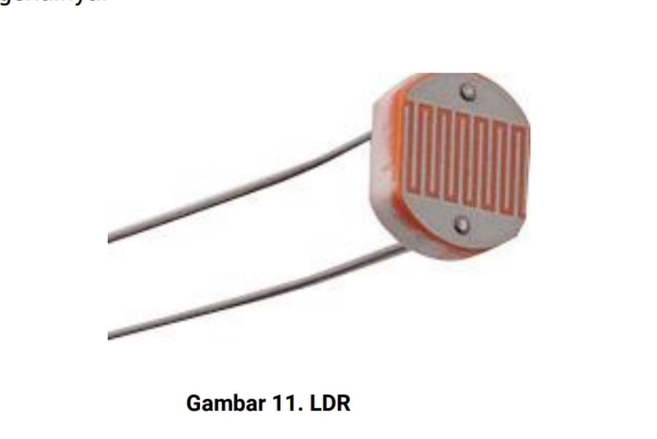 Jenis resistor LDR