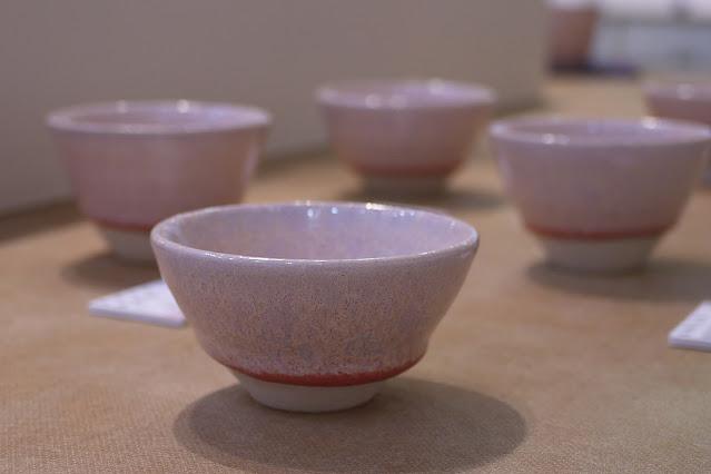 結晶釉 ぐいのみ(税込価格 ¥2,200) サイズ:口径7.0cm×高さ4.0cm