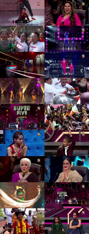 Screenshots Of Hindi Show Super Dancer Chapter 3 22nd June 2019 Episode 51 300MB 480P HD