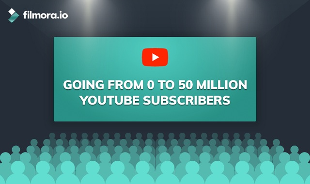 Going from zero to fifty million Youtube subscribers