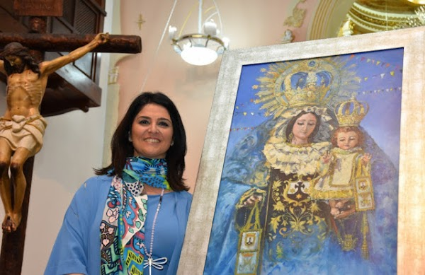 La pintora sevillana Nuria Barrera realizará el Cartel Oficial de la Semana Santa de Motril 2021