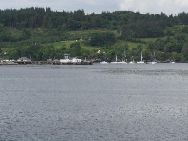 Gezicht op eiland Skye in Schotland