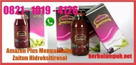 Khasiat Amazon Plus Herbal Ampuh
