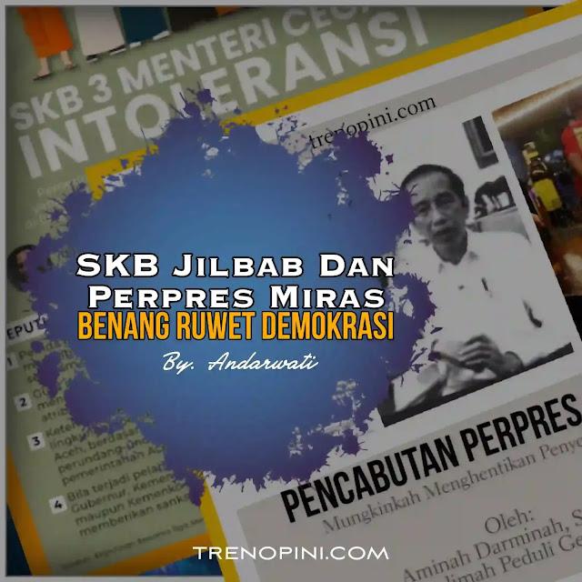 Perpres Nomor 10 Tahun 2021 ditetapkan pada 2 Februari oleh Jokowi dan diundangkan pada tanggal yang sama oleh Menteri Hukum dan Hak Asasi Manusia Yasonna Laoly. Perpres yang didalamnya terdapat aturan investasi miras menuai kontroversi yang sangat dahsyat dari masyarakat, sehingga Jokowi pada tanggal 2 Maret 2021 melalui pernyataannya di video menyatakan mencabut sebagian lampiran Perpes tersebut, meskipun belum ada perpres tentang pencabutan tersebut. Sebelumnya umat Islam juga dibikin geram dengan munculnya SKB 3 menteri yang berisi larangan mewajibkan jilbab bagi peserta didik di sekolah.