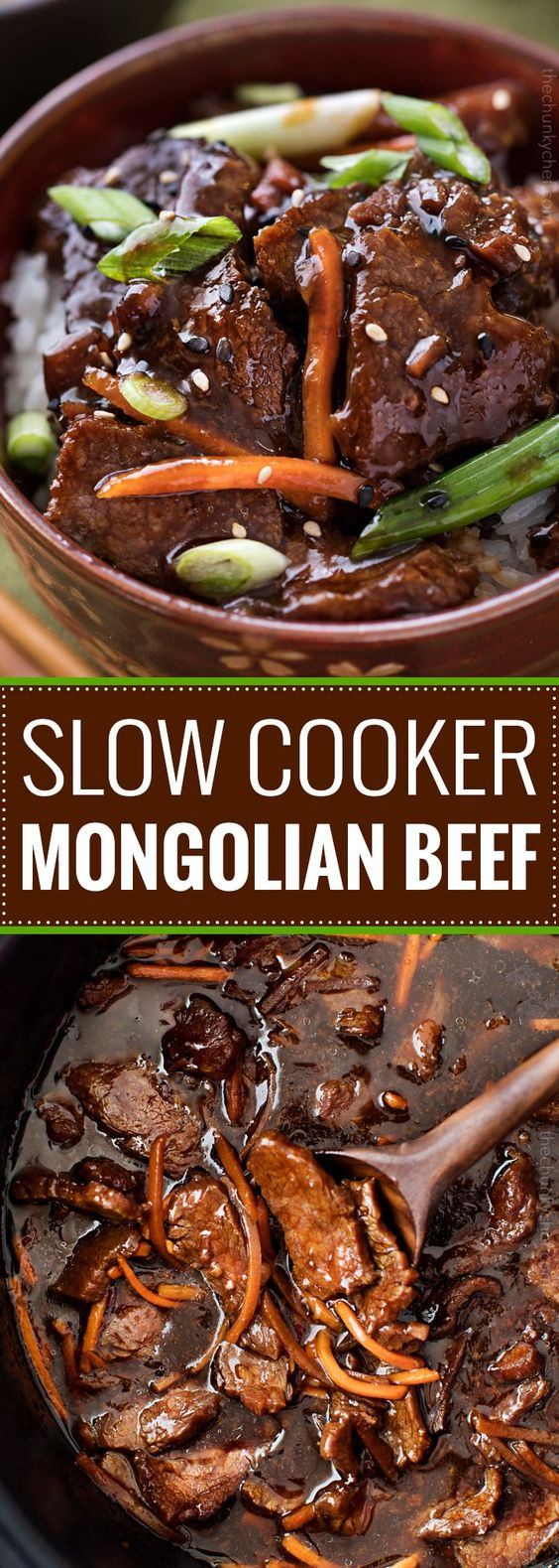 EASY SLOW COOKER MONGOLIAN BEEF RECIPE