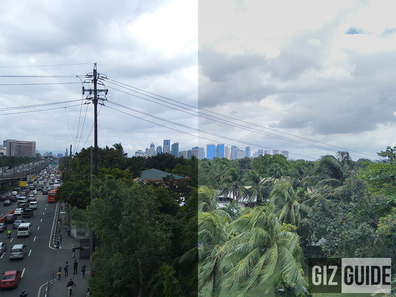 Normal vs HDR mode