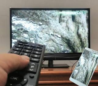 cara menampilkan layar android ke tv