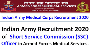 Armed Forces Medical Services (AFMS) Recruitment for 300 SSC Officer Apply Online @amcsscentry.gov.in /2020/07/AFMS-Recruitment-for-300-SSC-Officer-Apply-Online-amcsscentry.gov.in.html