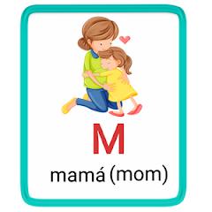m- alphabet in spanish