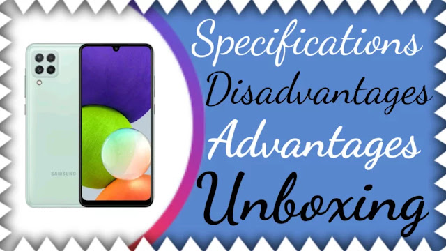 Samsung Galaxy A22 - Full phone Specifications