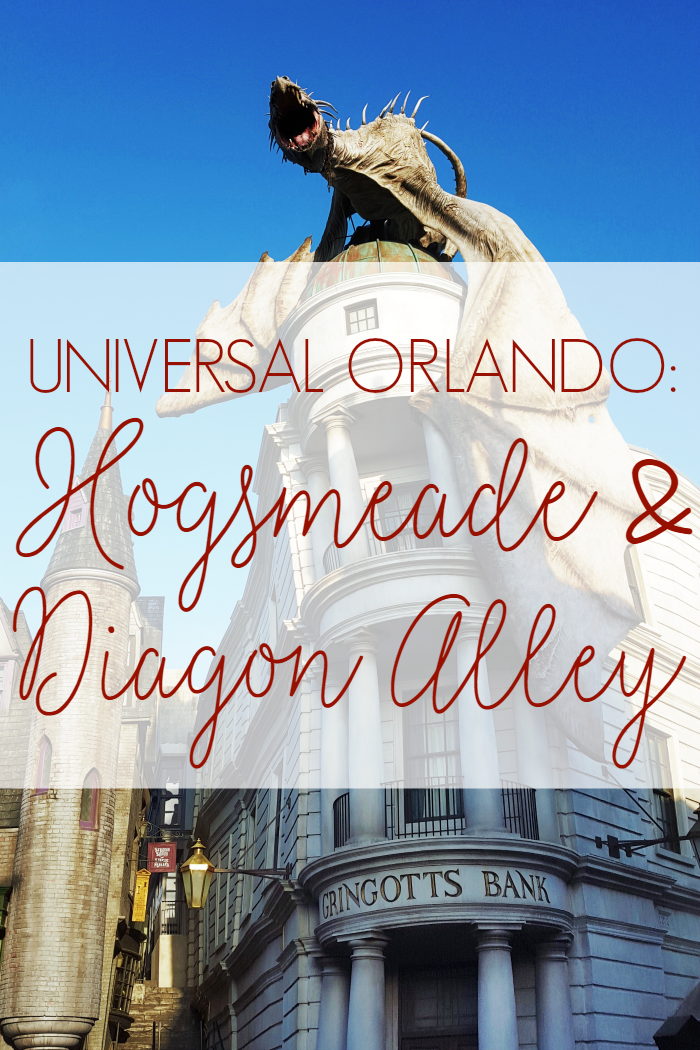 Geez, Louise: Universal Orlando: Diagon Alley and Hogsmeade