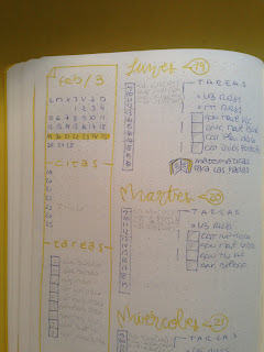"""Dejo el Bullet Journal"""