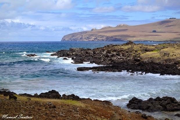 Isola di Pasqua, nei pressi di Ovahe