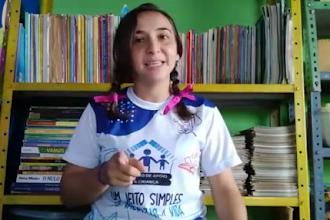 Chama alguém da sua confiança e escuta essa história da tia Riviane Queiroz Duarte